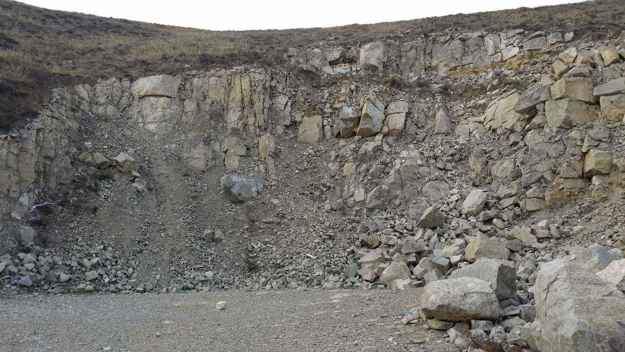 石灰岩破碎