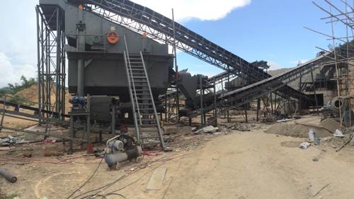海南三亚时产300吨破碎生产线