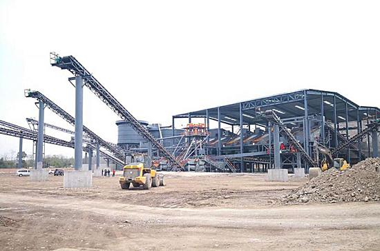 四川绵阳时产1000吨新型环保砂石生产线顺利完工