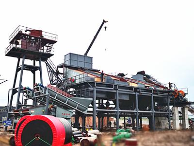 四川眉山月产20万方鹅卵石破碎生产线火热建设中