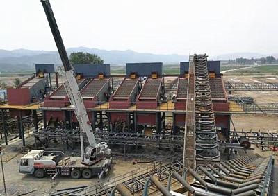 河南新乡时产1000吨鹅卵石破碎生产线