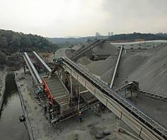 广东江门时产600吨破碎生产线