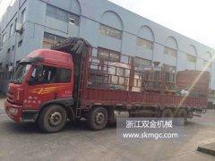 一台SJ1400圆锥破碎机发往安徽省
