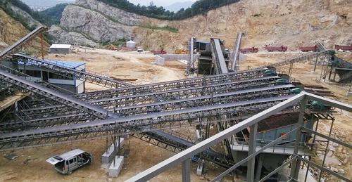 杭州萧山时产500吨破碎生产线
