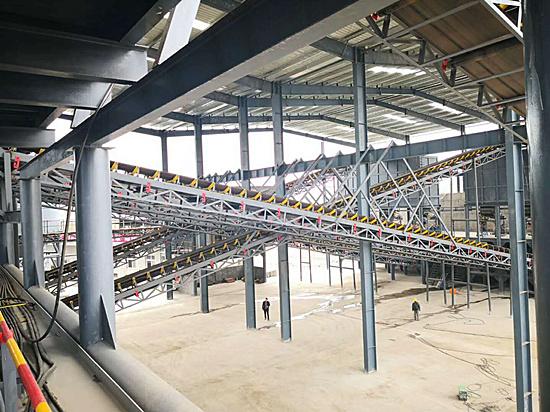 1000吨砂石生产线