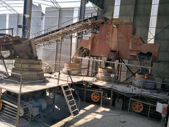 700吨铁矿石生产线